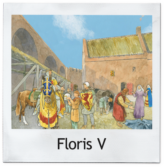 Floris V polaroid