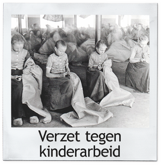 Kinderarbeid polaroid